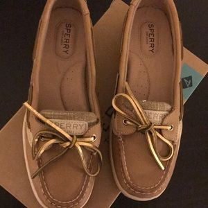Sperry Shoes - Gold Top Slider Sherry's